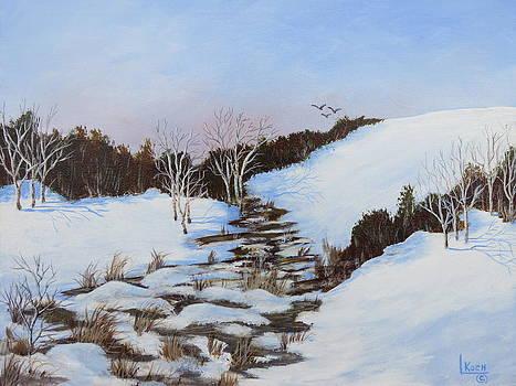 Winter Valley II by Linda Koch