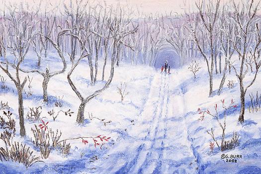 Winter Walk by George Burr