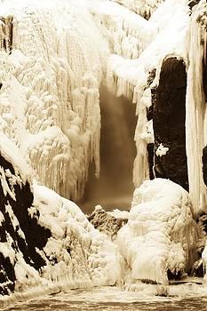 Winter Water Fall by Thomas Mack