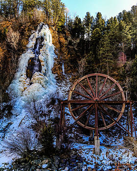 Jon Burch Photography - Winter Water Wheel