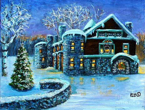 Winter Wonderland at the Paine Estate by Rita Brown