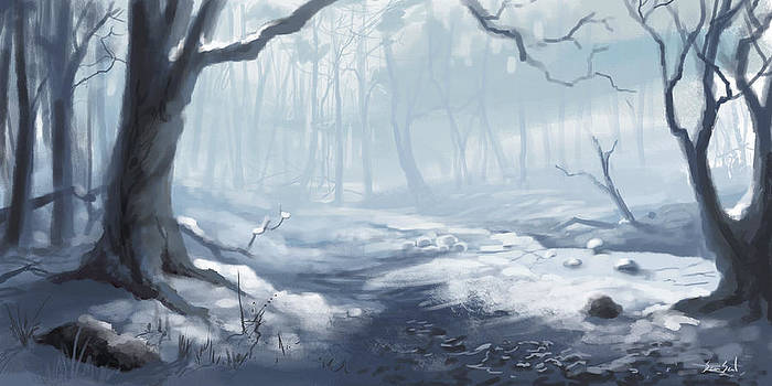 Winter Wood by Sean Seal