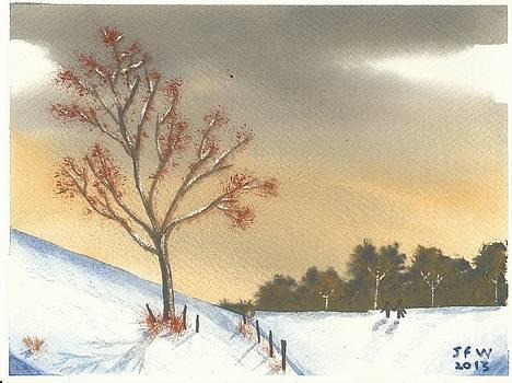 Winters walk by John Williams