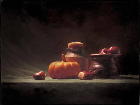 Wintry Supper by Albert Bonnefous