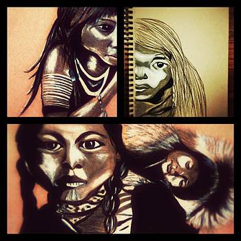 Historical Native Series called Idle No More by Ayasha Loya