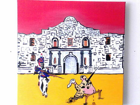 WIPE OUT at the Alamo  by MERLIN Vernon