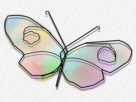 Wire Butterfly by Ricardo  De Almeida