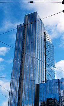 Wired in Seattle - skyscraper art print by Jane Eleanor Nicholas