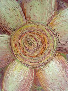 Wiry Sunflower by Anna Skaradzinska