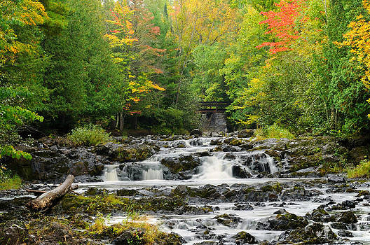 Wisconsin Waterfall by Sarah Rodefeld