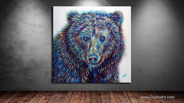 Teshia Art - Wise Eyes DISPLAY IMAGE ONLY