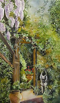 Alfred Ng - Wisteria in blooms