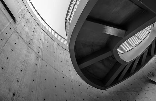 Without Gravity - Architectural Abstract by Steven Milner