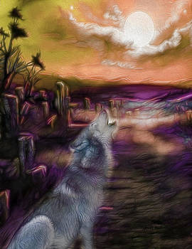 Wolf Moon Rising by Raven Hawk