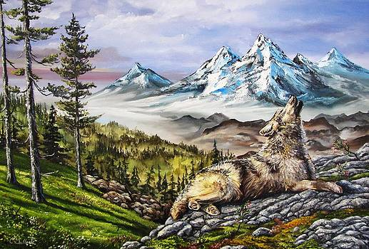 Wolf Mountain by Cassandra Gallant