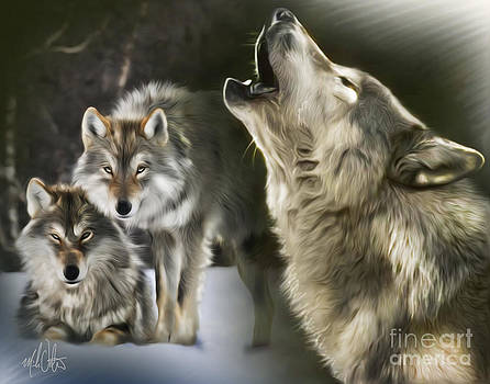 Wolves by Mike Oulton