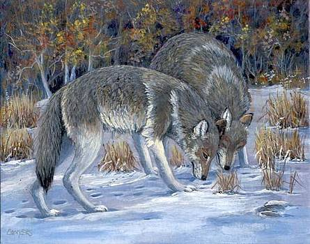 Wolves by Peggy Conyers