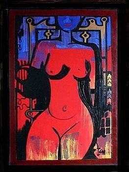 Woman by Adalardo Nunciato  Santiago