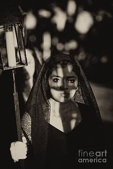 Woman in an Easter  Procession by Nicola Fiscarelli