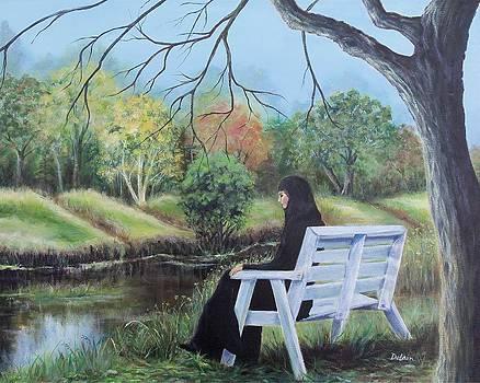 Woman in Black by Susan DeLain