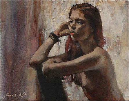 Woman in Time by Gavin Calf