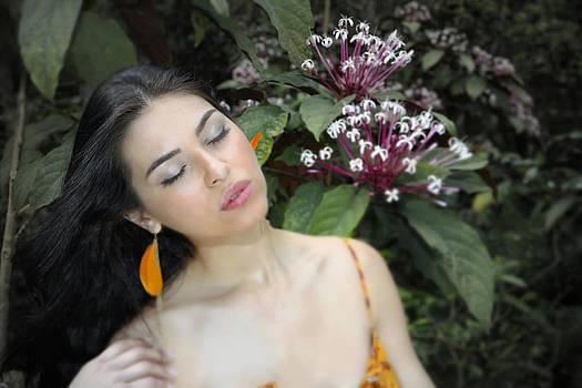 Woman My Special Flower by Robert Seidman