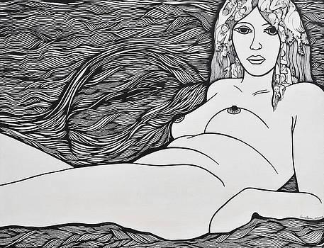Woman of Fifty by Jose Alberto Gomes Pereira