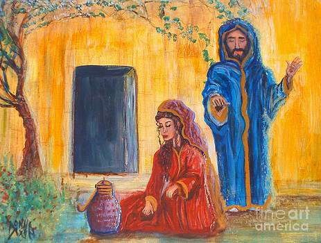 Woman Why Weepest Thou? by Donna Dixon