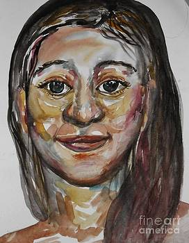 Woman's Face by Emily Michaud
