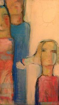Women And Sun by Khalid Alaani