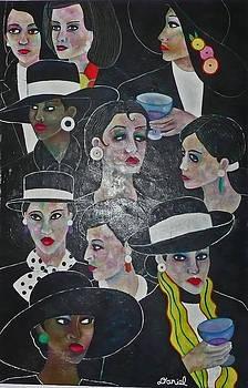 Women in Black by Daniel Brennan