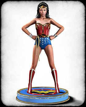 Frederico Borges - Wonder Woman Retro