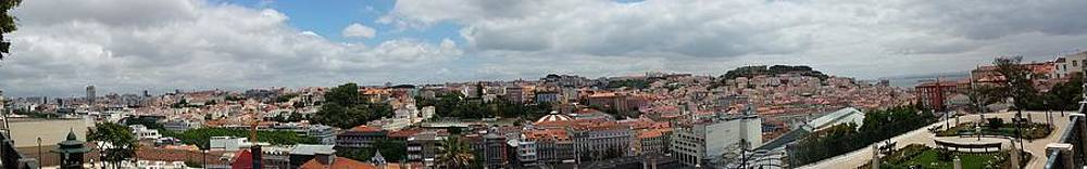 Wonderful scenery of Lisbon by Alberto Pala