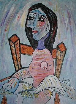 Wondering..... by Renate Dartois
