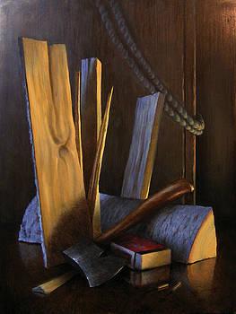Wood Box by Timothy Jones