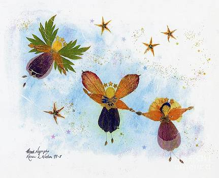 Wood Nymphs - no border by Karen Nelson
