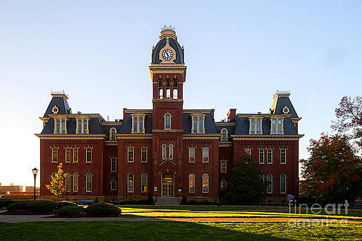 Dan Friend - Woodburn Hall late afternoon sun