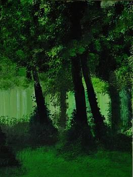 Wooden Landscape 3 by P Dwain Morris
