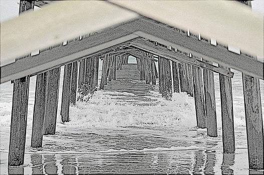 wooden Pier by DM Werner