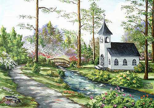Woodland Chapel by Carole Powell