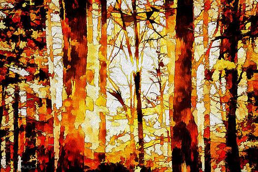 Barry Jones - Trees - Landscape - Woodland Tapestry