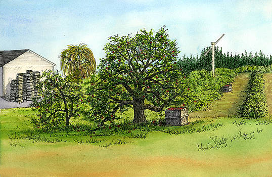 Woodmont Orchard by Elaine Farmer