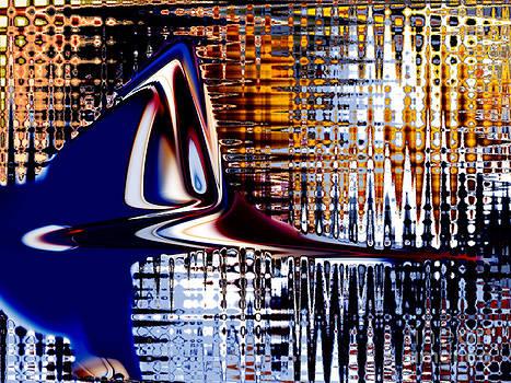 Woodpecker on Ice by Tom Hubbard