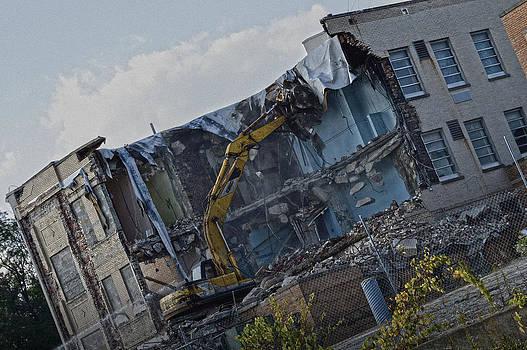 Woodside Demolition by Jim Wilcox