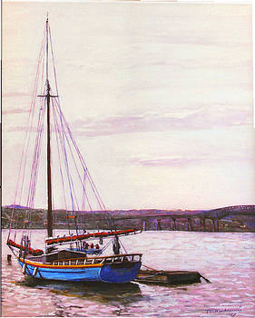 Woody Guthrie Sloop by Thomas Michael Meddaugh