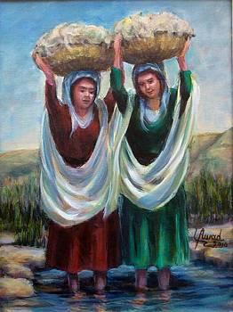 Wool washers by Laila Awad Jamaleldin