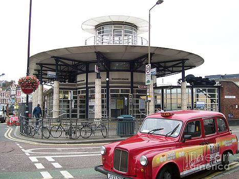 Woolwich Arsenal Train Station  by Ellen Howell