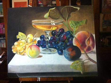 Work in progress by Graciela Scarlatto