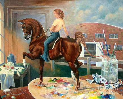 Work In Progress II by Jeanne Newton Schoborg