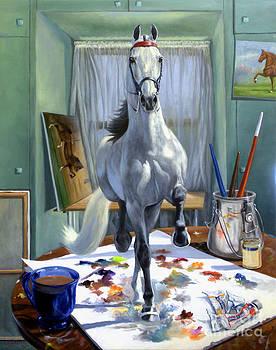 Work In Progress V by Jeanne Newton Schoborg